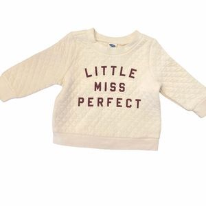 ✨3 for $30✨NEW Baby Girls Sweatshirt size 3-6month